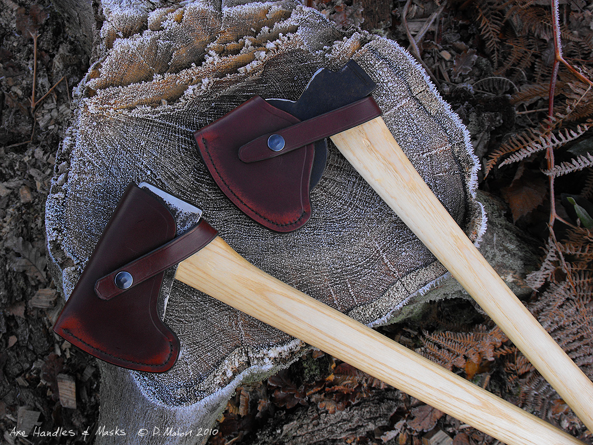 Axe Handles & Masks whittleandstitch.net