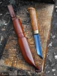 Scandinavian style Puukko & Sheath whittleandstitch.net